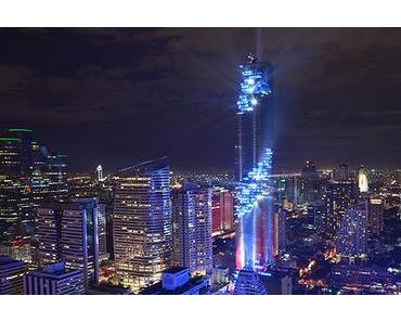 MahaNakhon – das höchste Gebäude in Bangkok