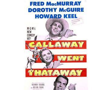Der Cowboy, den es zweimal gab – 1951