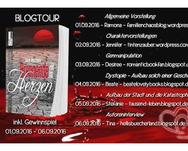 "[Blogtour] Blogtour ""Brennende Herzen - Dark River"" von Jana Martens"