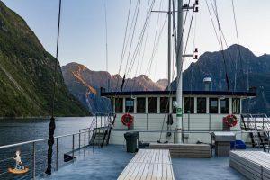Schiffstour über den Milford Sound – mit Übernachtung