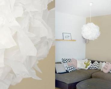 DIY Upcycling Lampe aus Seidenpapier + Tutorial