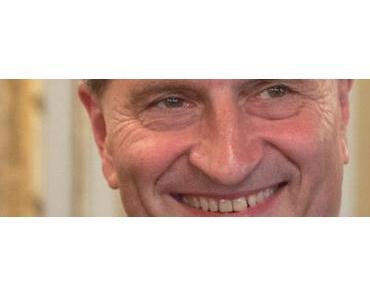 Günther Oettinger verkündet die Gigabyte-Gesellschaft