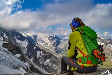 Großes Wiesbachhorn: türkise Seen und ein sterbender Grat
