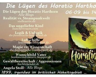 Blogtour: Die Lügen des Horatio Harthorn - Heute: Realität vs. Steampunkwelt