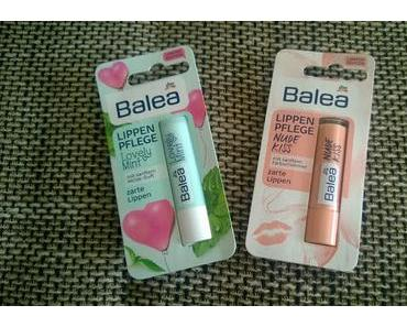 "Balea Lippenpflege ""Lovely Mint"" & ""Nude Kiss"""