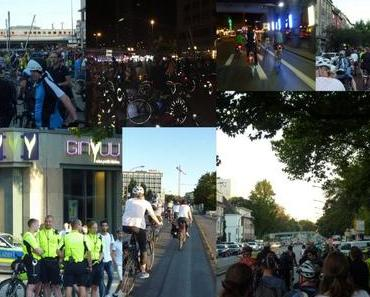 INFO: Die Critical Mass am 9.9.2016 in Essen