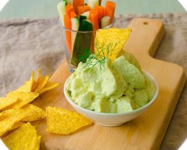 Avocadomousse als Dip –  aus dem iSi Gourmet Whip
