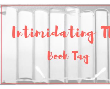 Intimidating TBR Book Tag