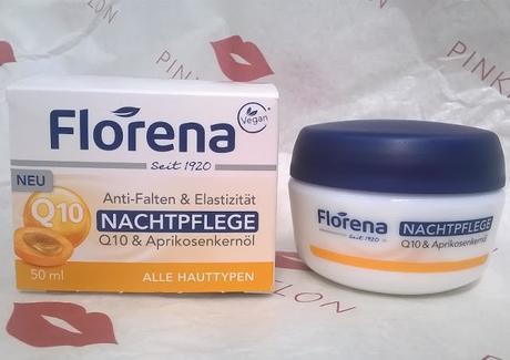 Florena Anti-Falten & Elastizität NACHTPFLEGE Q10..