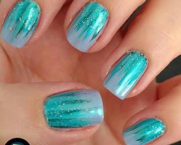 [Nails] NailArt-Dienstag: Waterfall Nails mit essie 219 bikini so teeny & einiges mehr