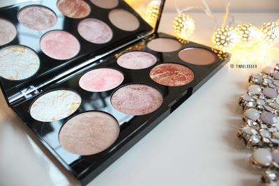 Makeup Revolution  | Ultra Blush Palette in Golden Sugar