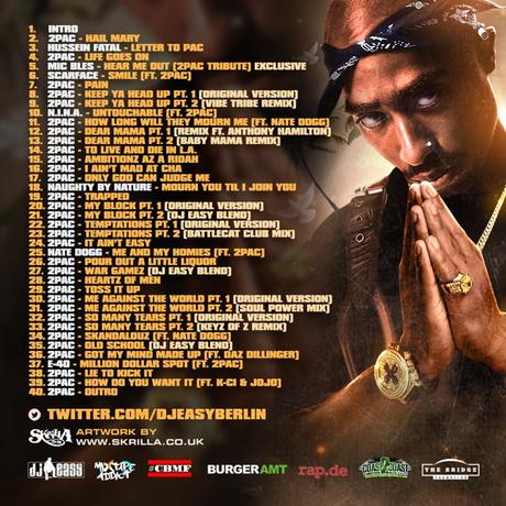 TIPP: DJ Easy presents 2Pac – Immortality (2Disc Mixtape) // free download
