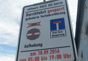 "Vor dem ""Grand Départ"" der Grand Frust: Race am Rhein"