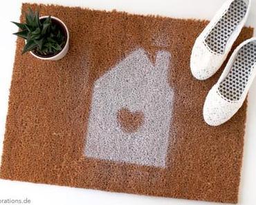 DIY Fußmatte mit Wunschmotiv und diese komischen Tage + Hallo Herbst-Blogparade