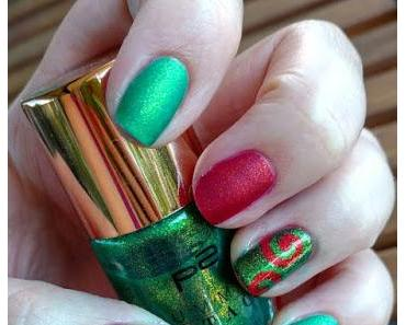 [Nails] p2 SUMMER ATTACK feel the heat nail polish 040 hot berry & 050 green palm tree