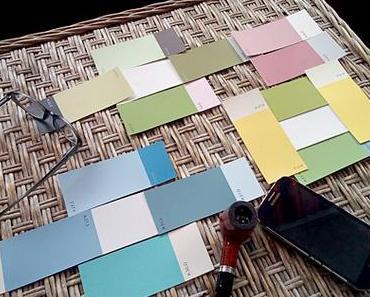 Welche Farben wird unsere Hütte bekommen?