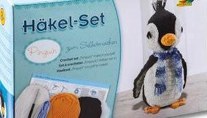 Folia Häkel-Set Pinguin