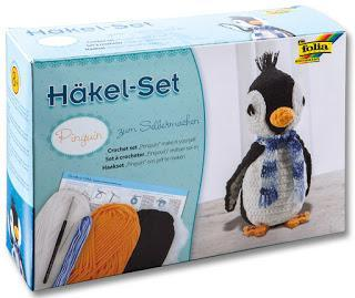 Folia - Häkel-Set Pinguin