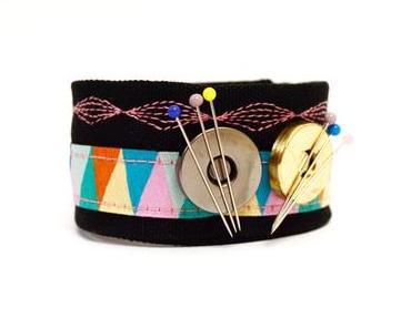 Magnetisches Nadelkissen-Armband nähen / DIY MODE Nähanleitung