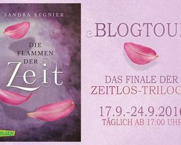 {Blogtour} Sandra Regnier ~ Die Flammen der Zeit # Auslosung ♥