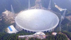 Weltgrößtes Radioteleskop FAST China Betrieb