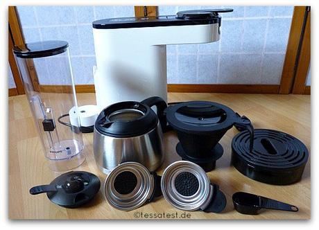 senseo switch 2 in 1 filter und padkaffeemaschine von philips im test. Black Bedroom Furniture Sets. Home Design Ideas