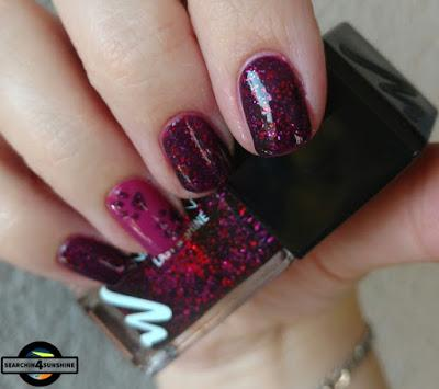 [Nails] MANHATTAN 570 CLUB NIGHTS mit CATRICE LUXURY LACQUERS C10 Miss-Terious Red