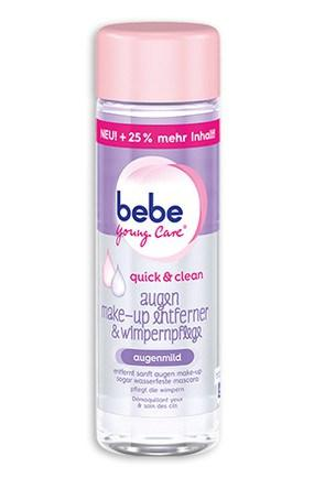 bebe-young-care-quick-clean-augen-make-up-entferner-wimpernpflege