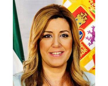 Susana Díaz will Spanien retten, indem sie der korrupten Regierung hilft an der Macht zu bleiben