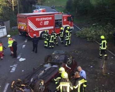 Unfall Bad Rippoldsau-Schapbach