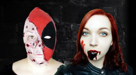 This is Halloween: Deadpool vs. Black Widow!