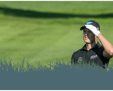 Rückblick der Golfer