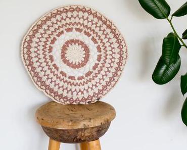[Produkttest] DIY - Anleitung für eine runde, gehäkelte Kissenhülle
