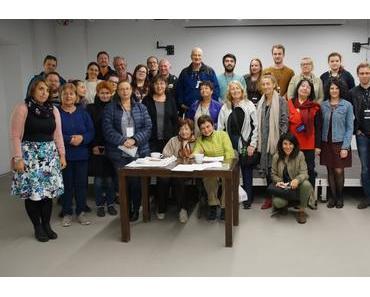 Gedenkdiener Markus Fischer in Polen auf Studienreise