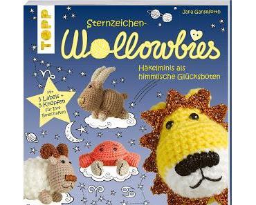Sternzeichen Wollowbies - Häkelminis als himmlische Glücksboten