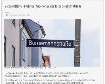 Justizskandal in Hamburg: Richter 'vergewaltigt' 14jährige ein weiteres Mal