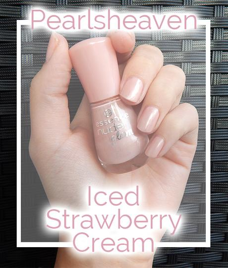Iced Strawberry Cream {NOTD}