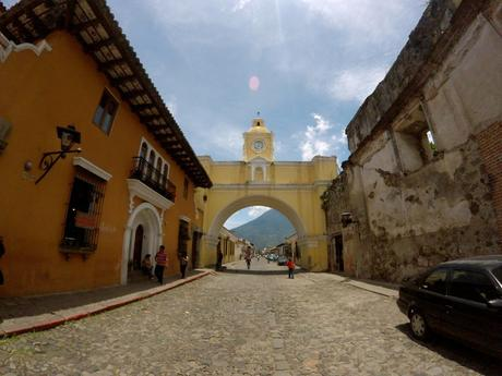 Torbogen Arco Santa Catalina in Antigua