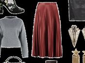 Ways Style Pleated Midi Skirt