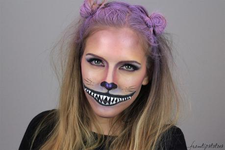 Chreshire Cat Halloween Look - www.fromtipstotoes.ch