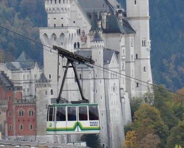 """Unsere """"Bergwanderung"""" in Schwangau auf die Hornburg"""