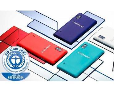 Fairphone 2: Smartphone mit blauem Engel