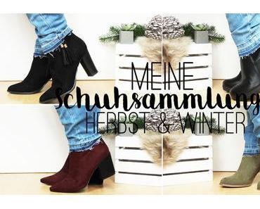 Meine Schuhsammlung im Herbst & Winter (+ Video)