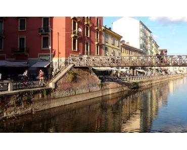 Milano: kein Schiff mehr im Canale Grande