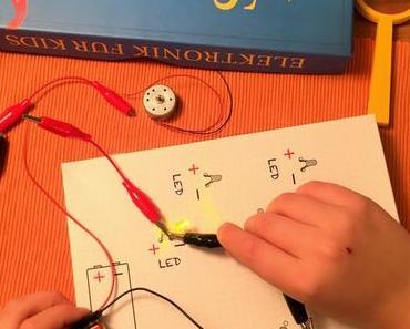 Elektronik für Kids: Experimentieren mit Elektrizität