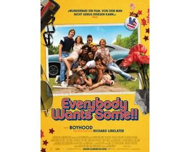 "Blu-rays zu Richard Linklaters ""Everybody Wants Some!!"""