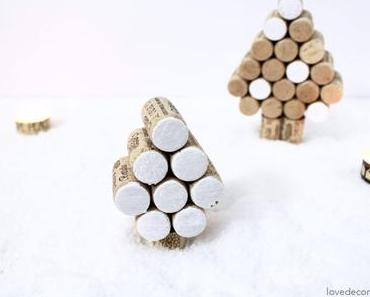 DIY Tannenbaum aus Korken und La Petite Épicerie Gewinner