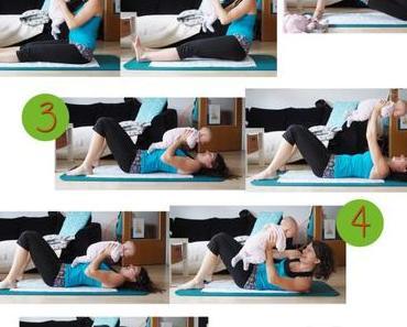 {Mamaness} Workout #31 Rückbildung mit Baby