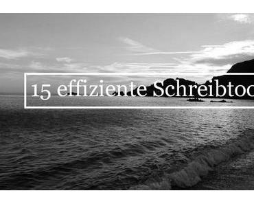 """Gastbeitrag: """"15 großartige Schreibtools, mit denen Sie Ihre Effizienz steigern"""""""