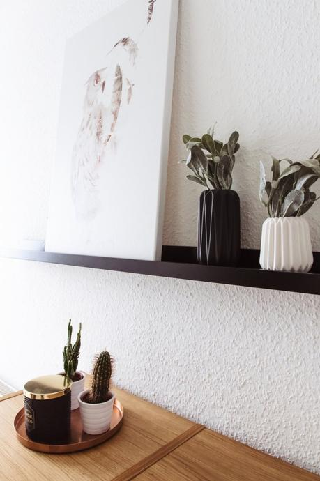 eingangsbereich dekorieren so habe ich meinen kleinen flur gestaltet. Black Bedroom Furniture Sets. Home Design Ideas